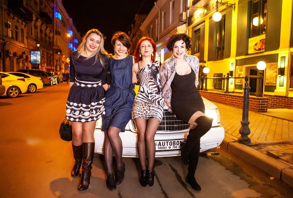 Заказ лимузина в Одессе
