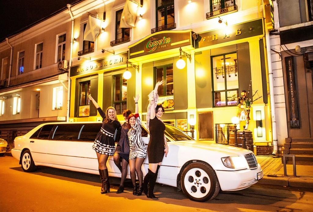 Прокат лимузина в Одессе